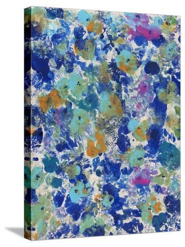 Floral Bright II--Stretched Canvas Print