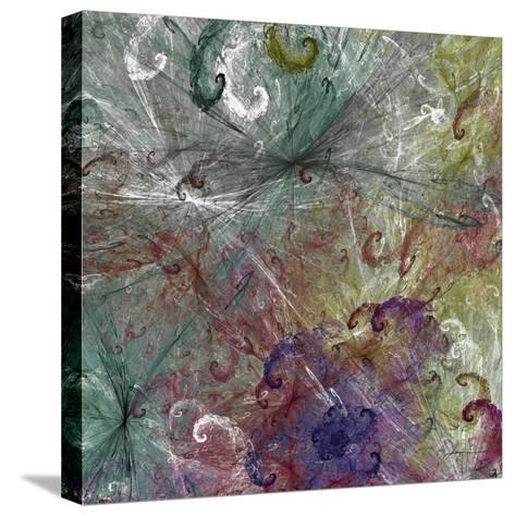 Spinout Tiles III-James Burghardt-Stretched Canvas Print