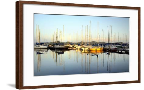 Marina Sundown III-Danny Head-Framed Art Print