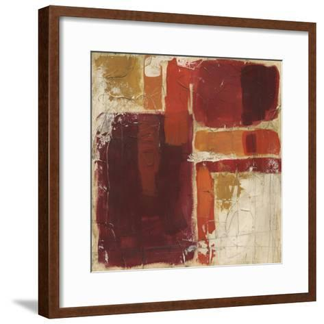 Overlap I-June Erica Vess-Framed Art Print