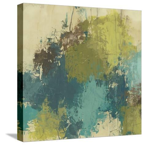 Blue Monday II-June Erica Vess-Stretched Canvas Print