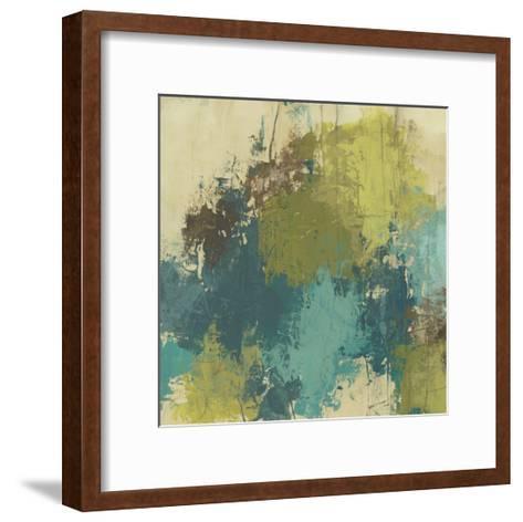 Blue Monday II-June Erica Vess-Framed Art Print