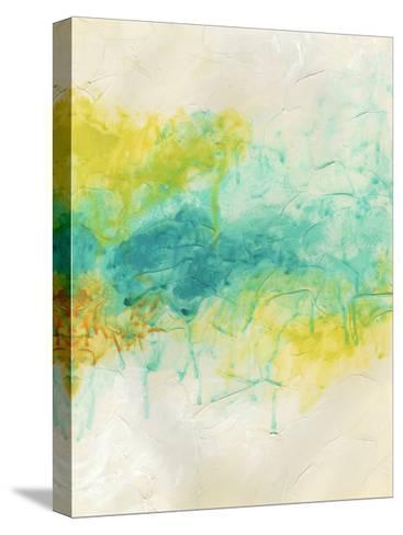 Aurora Lights I-June Erica Vess-Stretched Canvas Print