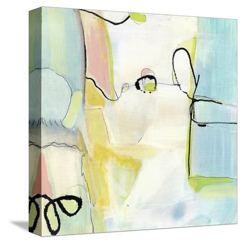 Travelogue I-Jodi Fuchs-Stretched Canvas Print
