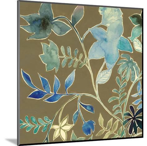 Flower Garland III-Grace Popp-Mounted Art Print
