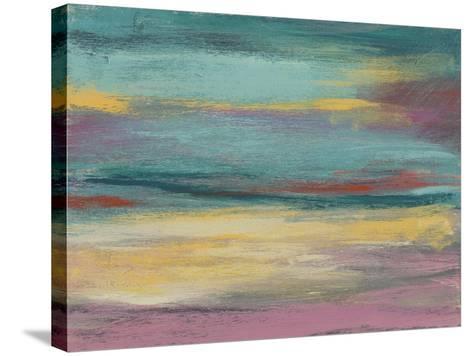 Sunset Study VII-Jennifer Goldberger-Stretched Canvas Print