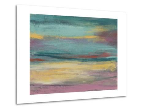 Sunset Study VII-Jennifer Goldberger-Metal Print