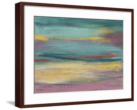 Sunset Study VII-Jennifer Goldberger-Framed Art Print