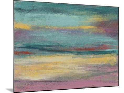 Sunset Study VII-Jennifer Goldberger-Mounted Art Print