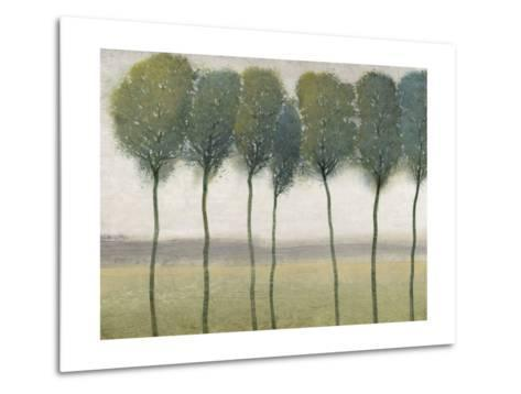 Row of Trees I--Metal Print