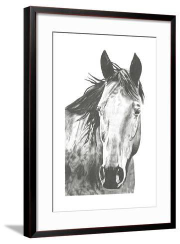 Wildlife Snapshot: Horse I-Naomi McCavitt-Framed Art Print