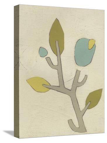 Simple Stems IV-June Erica Vess-Stretched Canvas Print