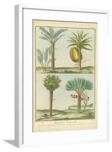 Histoire Naturelle Tropicals I-Martinet-Framed Art Print