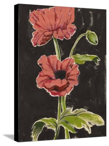 Haloed Poppies I-Grace Popp-Stretched Canvas Print