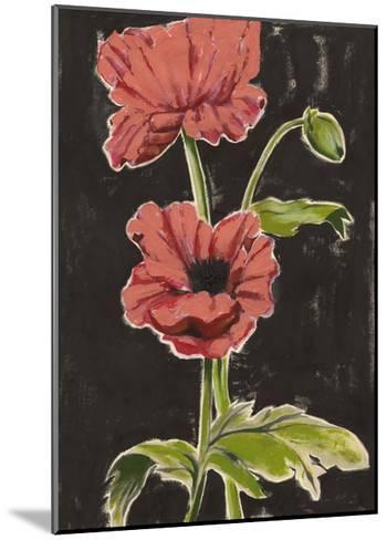 Haloed Poppies I-Grace Popp-Mounted Art Print