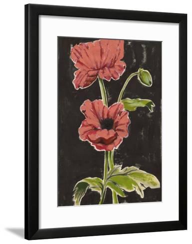Haloed Poppies I-Grace Popp-Framed Art Print