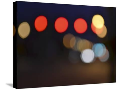 Bokeh Abstract IV-Sharon Chandler-Stretched Canvas Print