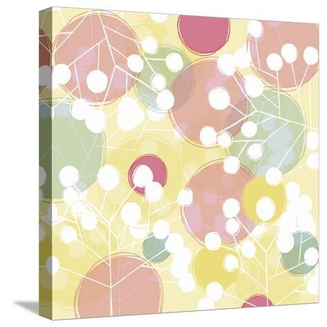 Popping Flowers I-Ali Benyon-Stretched Canvas Print