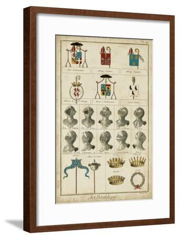 Art Heraldique I-Vintage Collection-Framed Art Print