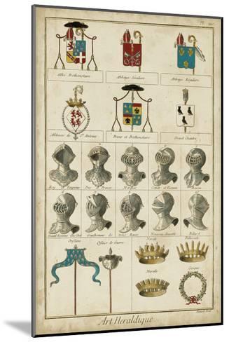 Art Heraldique I-Vintage Collection-Mounted Art Print