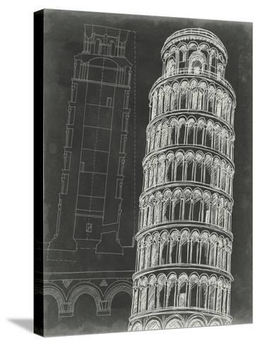 Iconic Blueprint III-Ethan Harper-Stretched Canvas Print