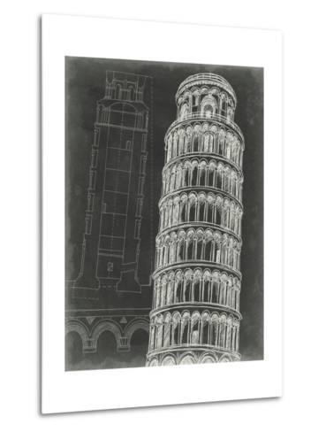 Iconic Blueprint III-Ethan Harper-Metal Print