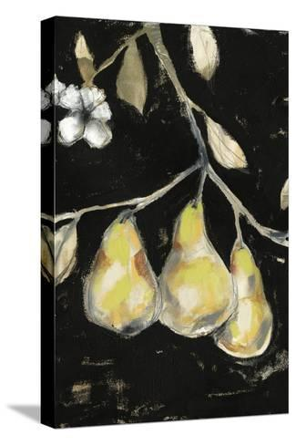 Fresh Pears I-Jennifer Goldberger-Stretched Canvas Print