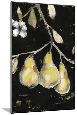 Fresh Pears I-Jennifer Goldberger-Mounted Art Print