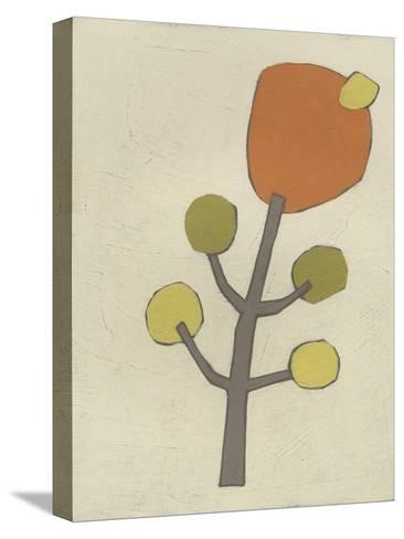 Simple Stems VII-June Erica Vess-Stretched Canvas Print
