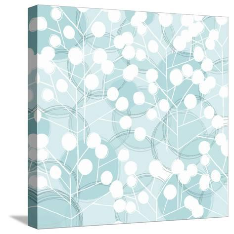 Popping Flowers III-Ali Benyon-Stretched Canvas Print