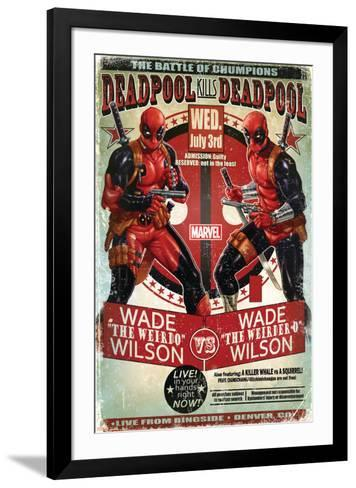 Deadpool--Framed Art Print
