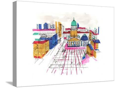 Berlin, 2015-Charlotte Orr-Stretched Canvas Print