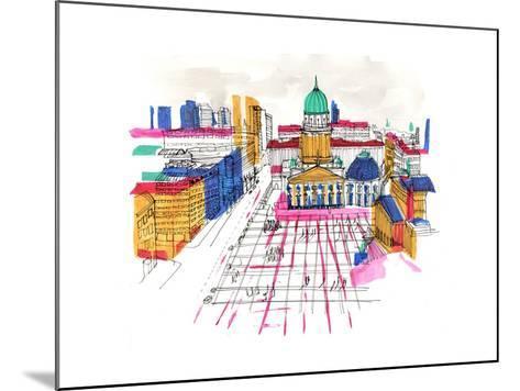 Berlin, 2015-Charlotte Orr-Mounted Giclee Print
