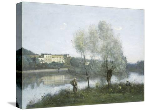 Ville D'Avray, c.1865-Jean-Baptiste-Camille Corot-Stretched Canvas Print