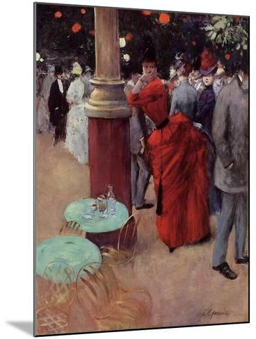 At the Public Garden, c.1884-Jean Louis Forain-Mounted Giclee Print