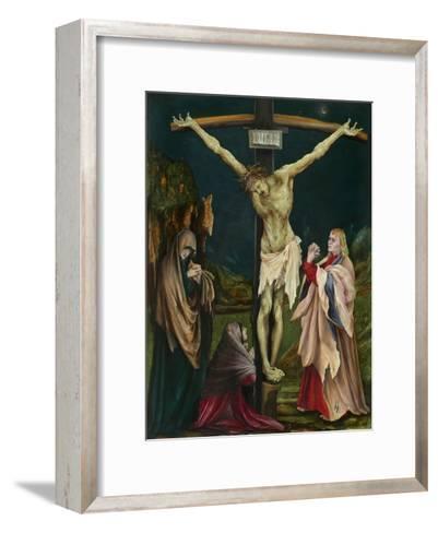 The Small Crucifixion, c.1511-20-Matthias Grunewald-Framed Art Print