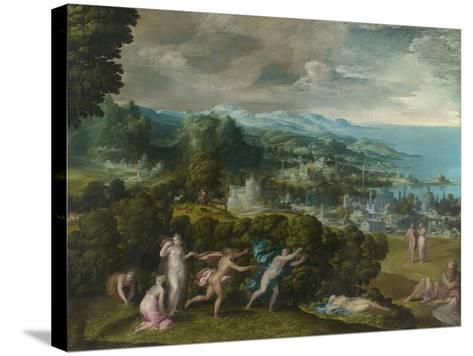 The Death of Eurydice, 1552-71-Niccolo dell' Abate-Stretched Canvas Print