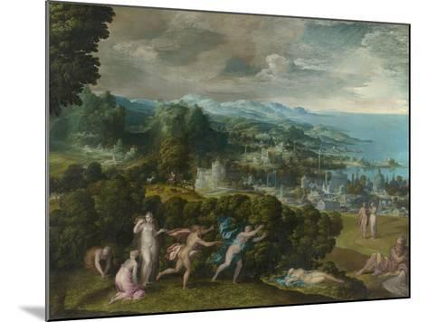 The Death of Eurydice, 1552-71-Niccolo dell' Abate-Mounted Giclee Print