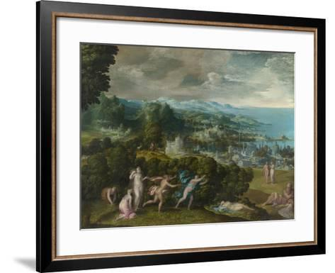 The Death of Eurydice, 1552-71-Niccolo dell' Abate-Framed Art Print