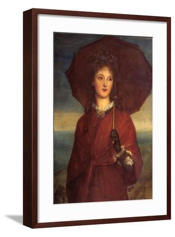 Eveleen Tennant, Later Mrs F.W.H. Myers-George Frederic Watts-Framed Art Print