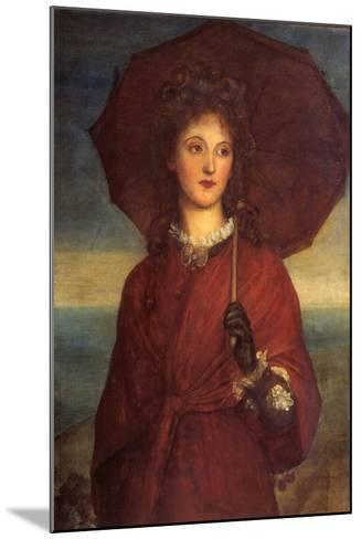 Eveleen Tennant, Later Mrs F.W.H. Myers-George Frederic Watts-Mounted Giclee Print