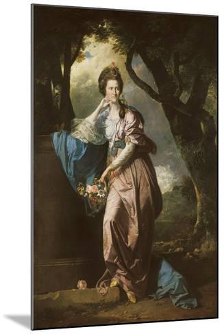 Mrs Woodhull-Johan Zoffany-Mounted Giclee Print