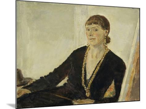 Self-Portrait-Dame Ethel Walker-Mounted Giclee Print