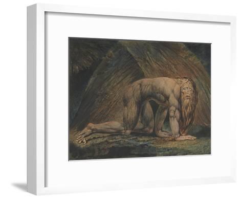 Nebuchadnezzar-William Blake-Framed Art Print
