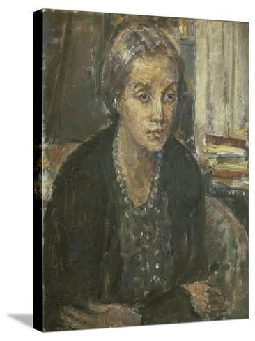 Vanessa-Dame Ethel Walker-Stretched Canvas Print
