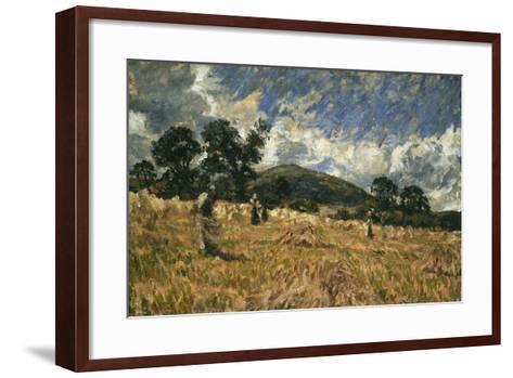 Threatening Weather-James Charles-Framed Art Print