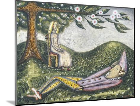 The Sleeping Fool-Cecil Collins-Mounted Giclee Print