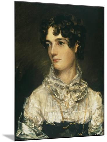 Maria Bicknell, Mrs John Constable-John Constable-Mounted Giclee Print