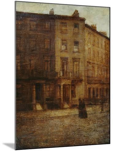 Bessborough Street, Pimlico-Ambrose Mcevoy-Mounted Giclee Print