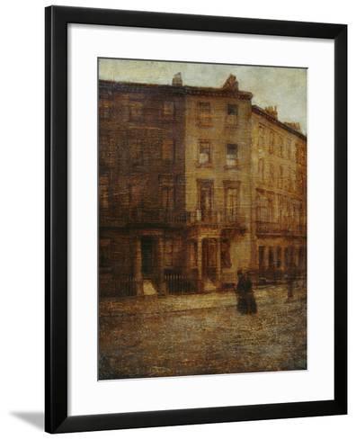 Bessborough Street, Pimlico-Ambrose Mcevoy-Framed Art Print